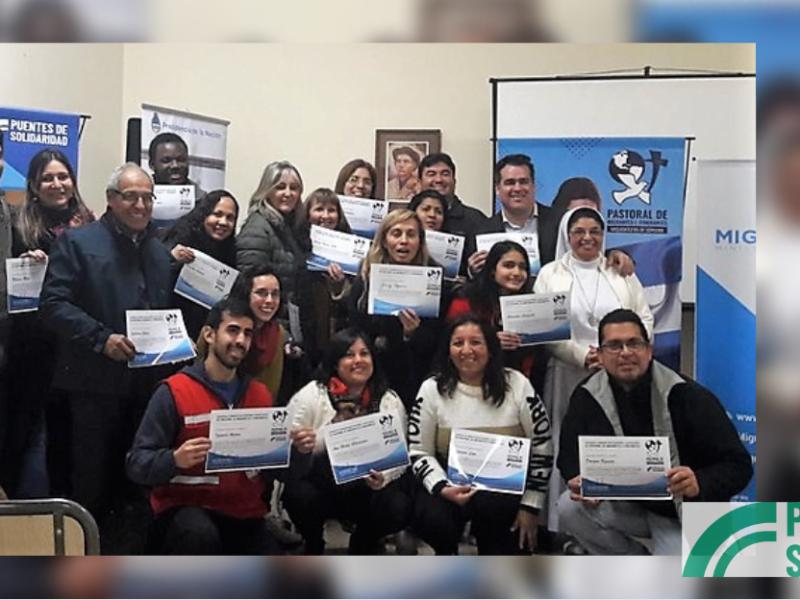 Encuentro de formación de voluntarios y nuevos agentes de pastoral migratoria en Córdoba