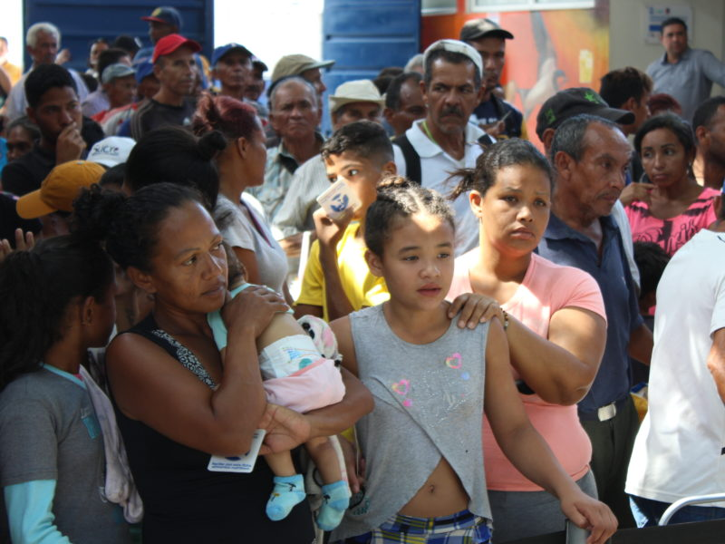 Caridad en la frontera. Dicasterio y Sección Migrantes y Refugiados en misión a Cúcuta
