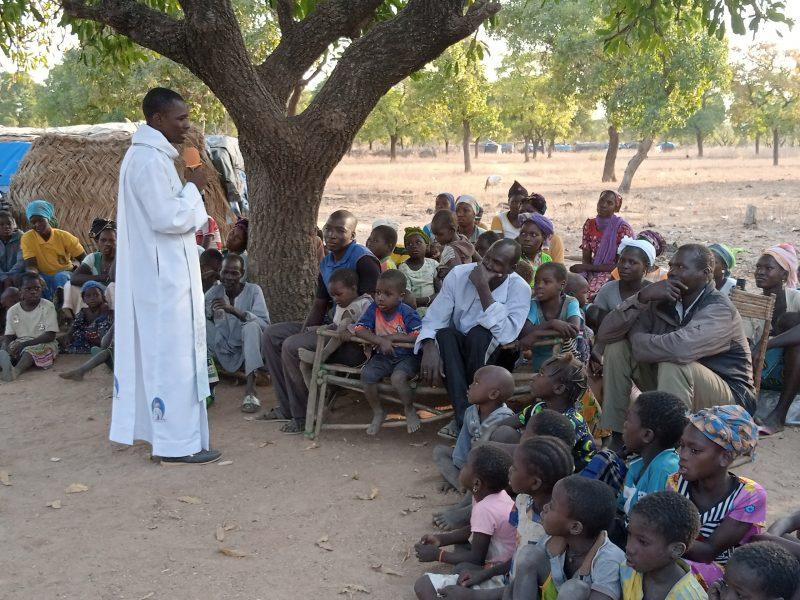 Diocèse de Koudougou (Burkina Faso) s'occupe des personnes déplacées