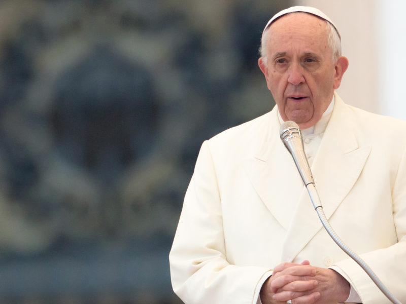 Appello del Papa contro la Tratta di persone