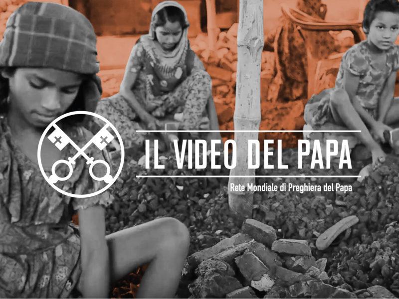 Il video del Papa contro la Tratta di Persone