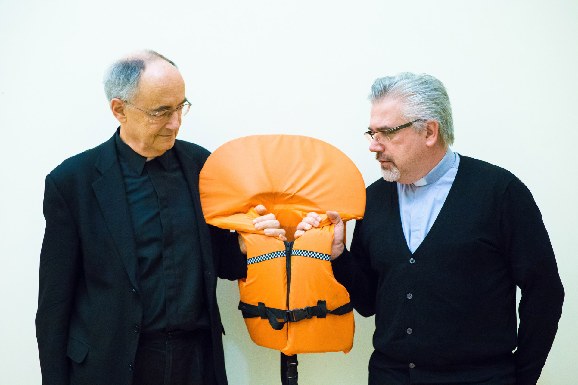 Migrants & Refugees Section - Fr. Michael Czerny, SJ & Fr. Baggio
