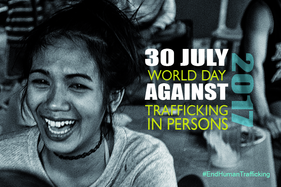 30 july against human trafficking Migrants and Refugees