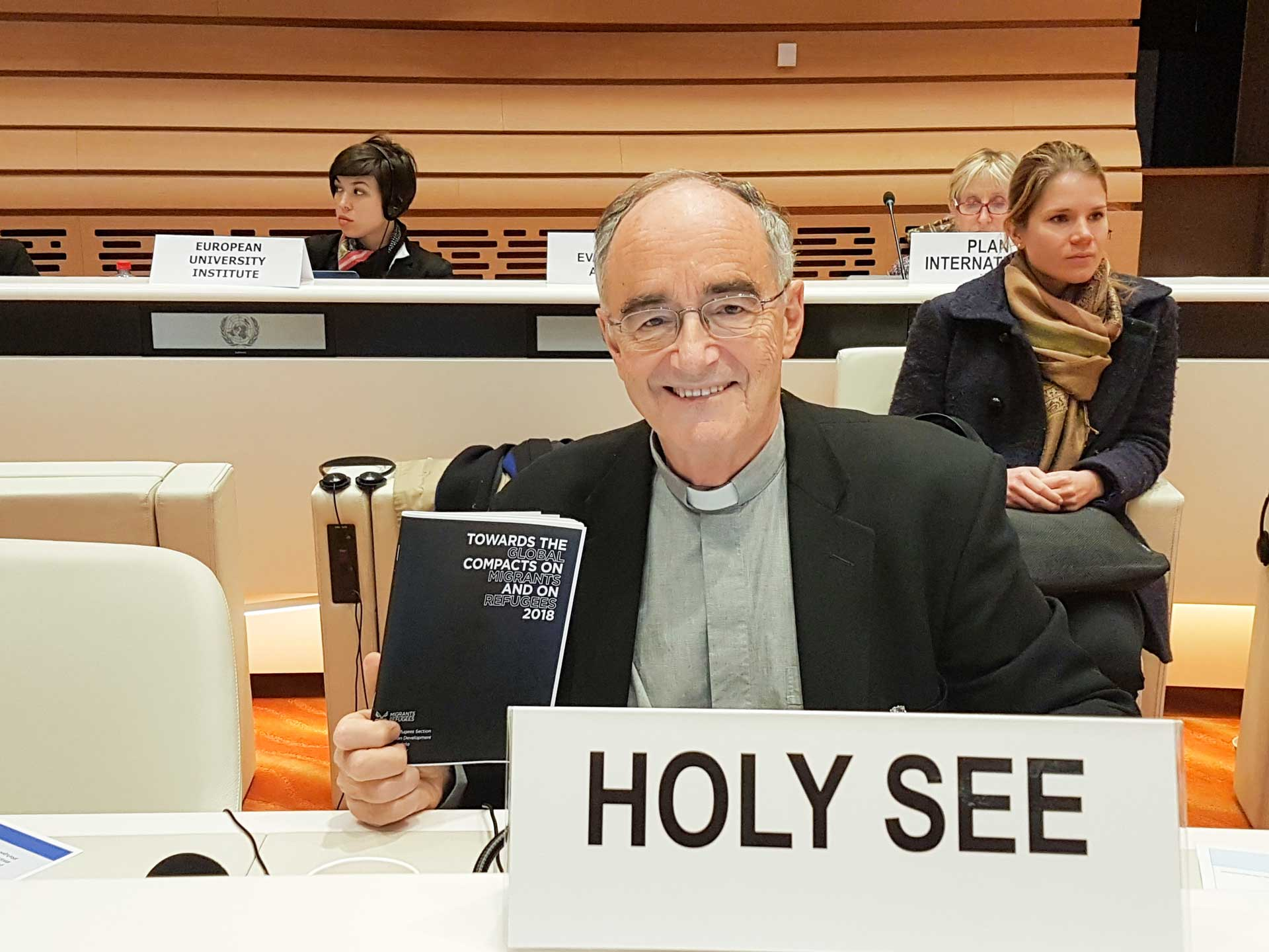 holy see global compacts czerny Migrants and Refugees