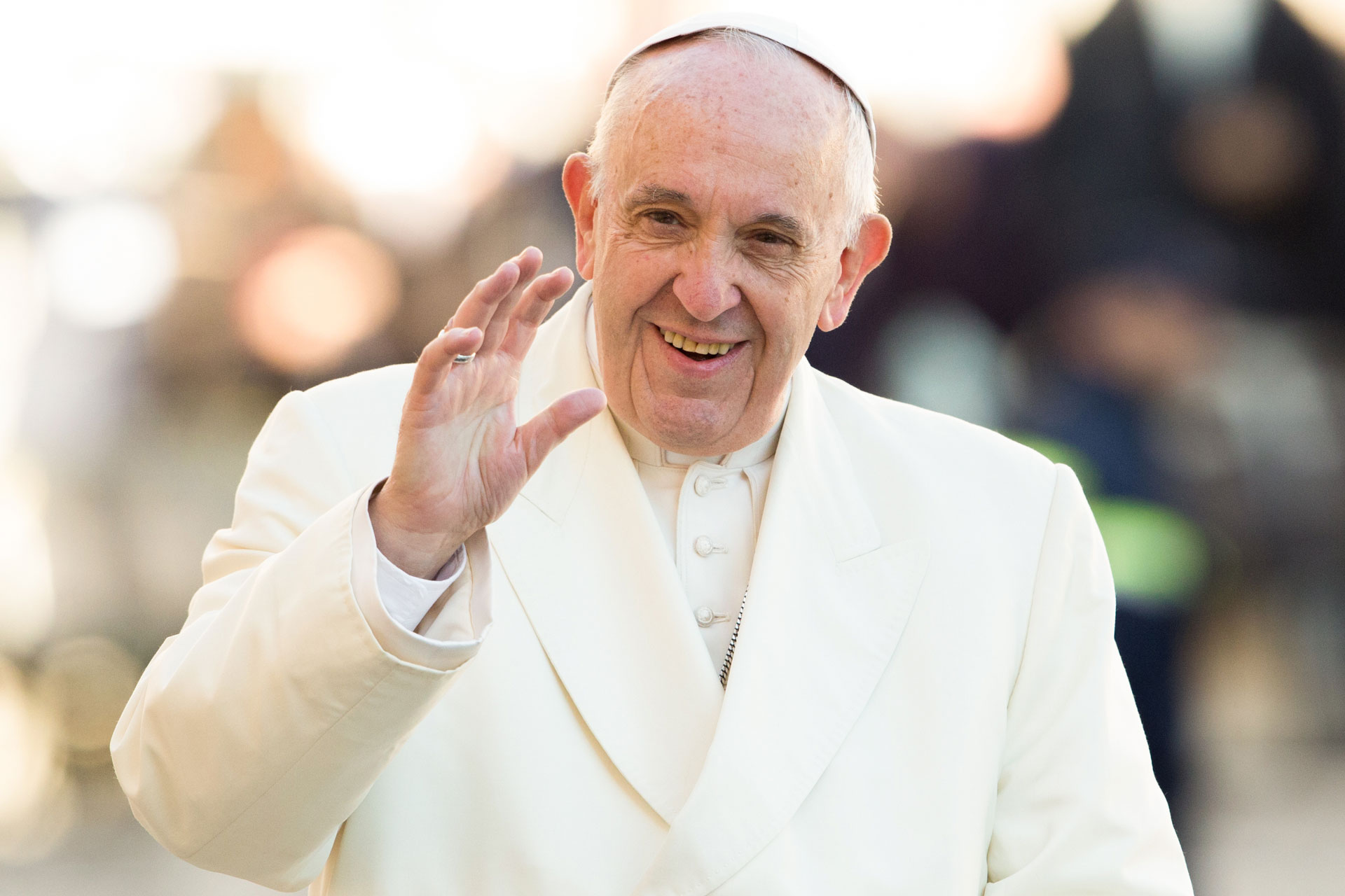 pope francis audience Migrants and Refugees