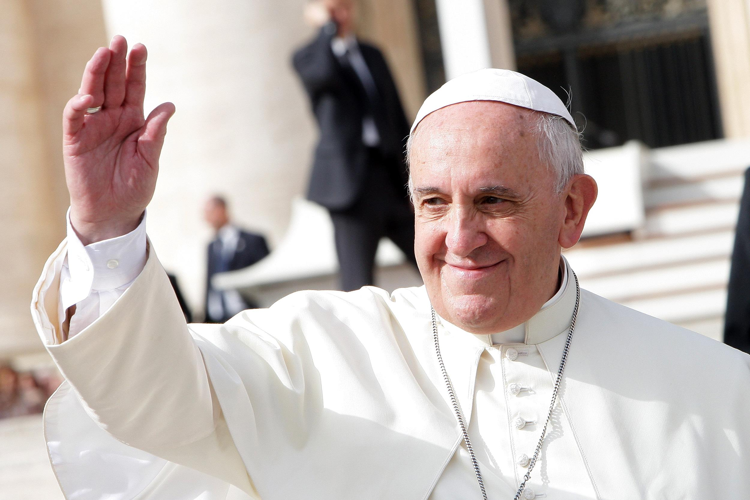 pope francis blessing Migrants and Refugees