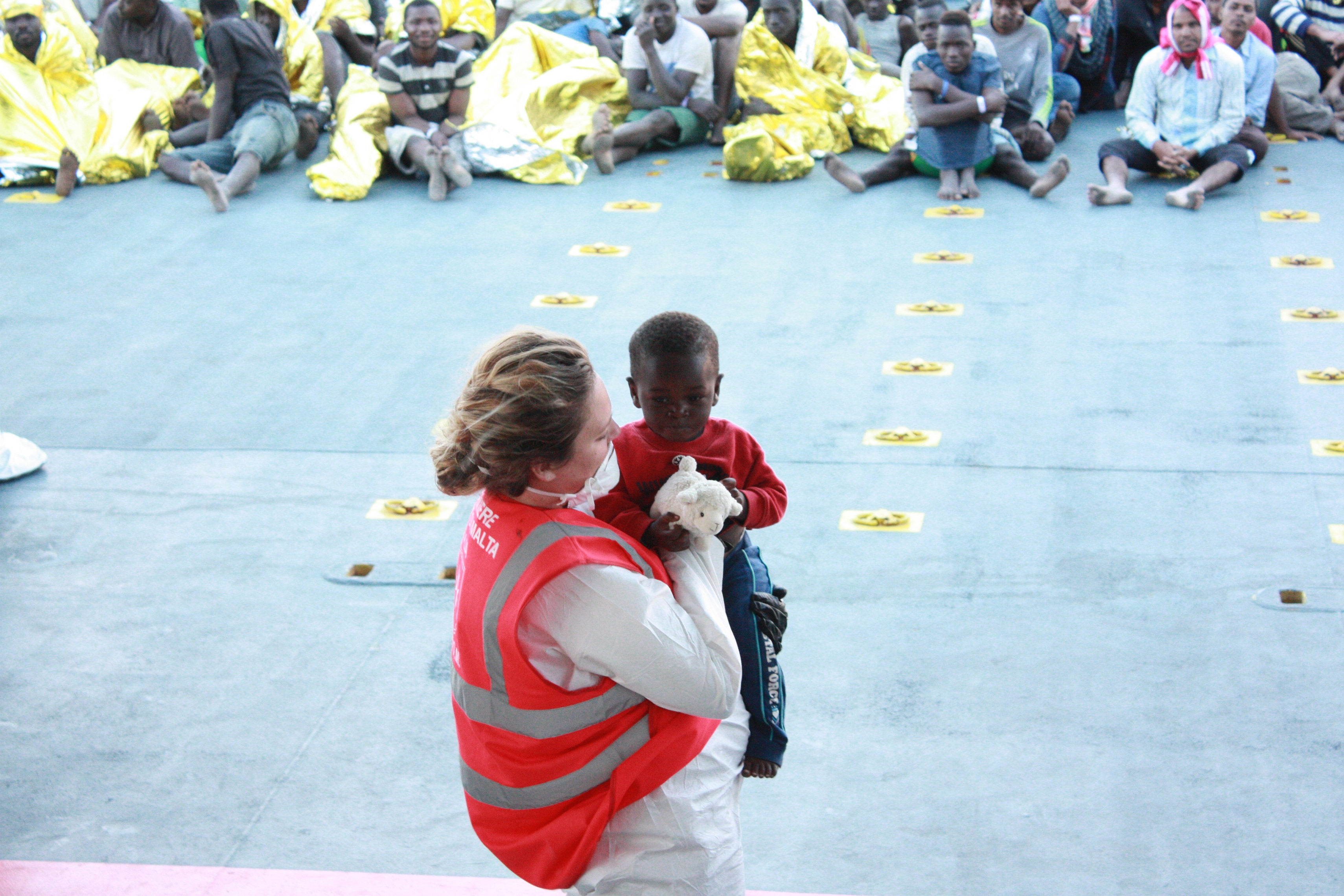 angels of the sea Migrants and Refugees