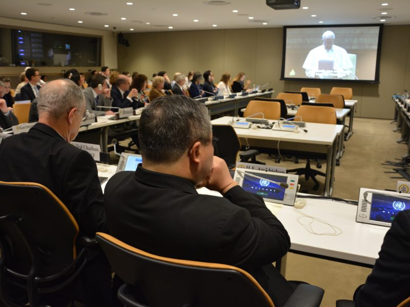 Holy See at UN: Ending the Detention of Child Migrants and Refugees