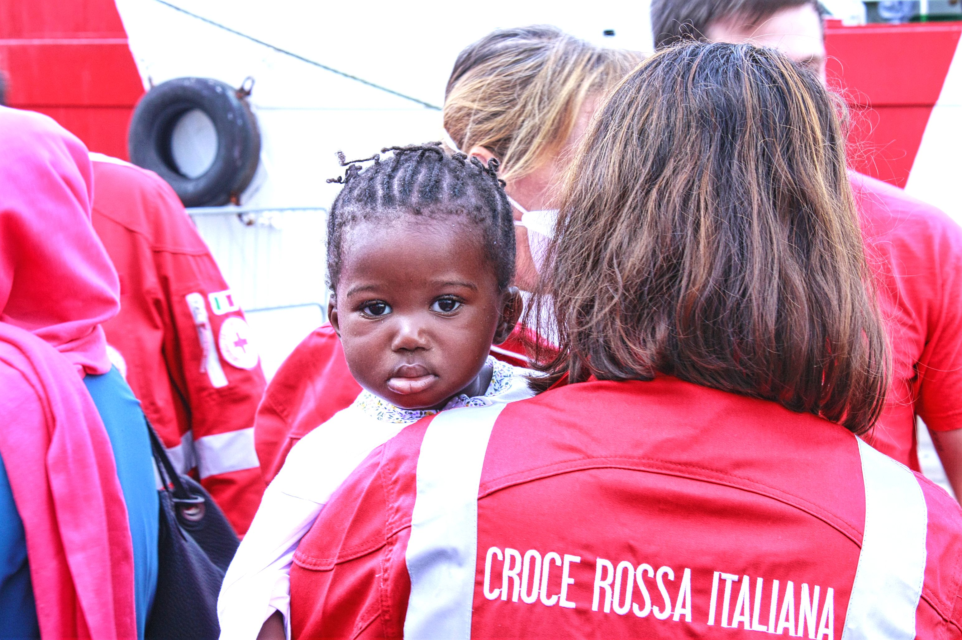 red cross italy angels of the sea Migrants and Refugees