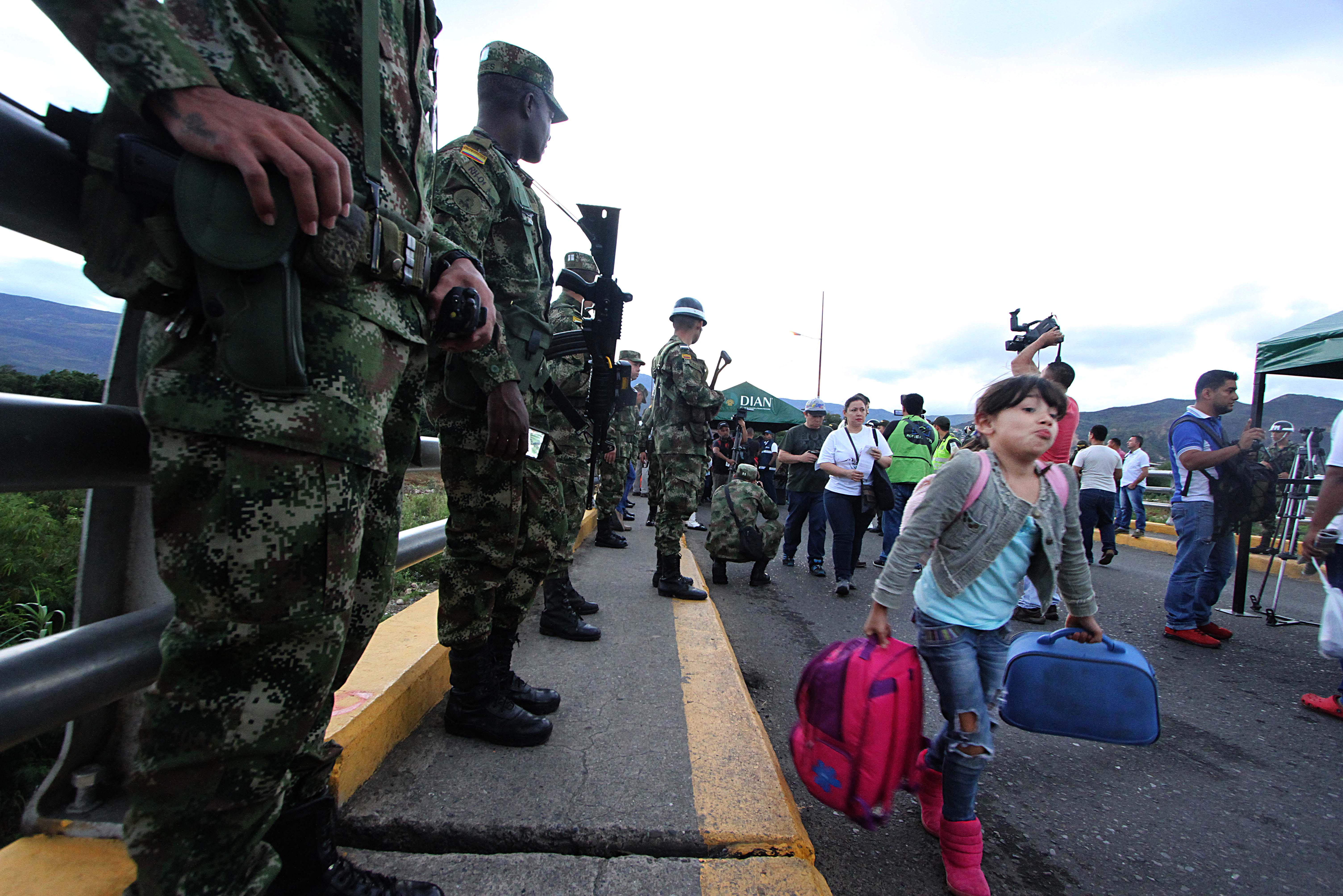 army migration venezuela Migrants and Refugees