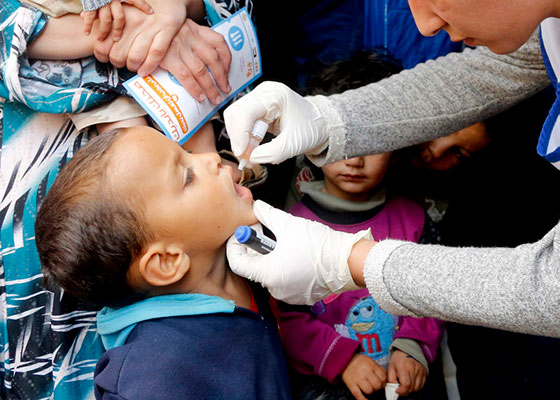 vaccination medicine syria Migrants and Refugees