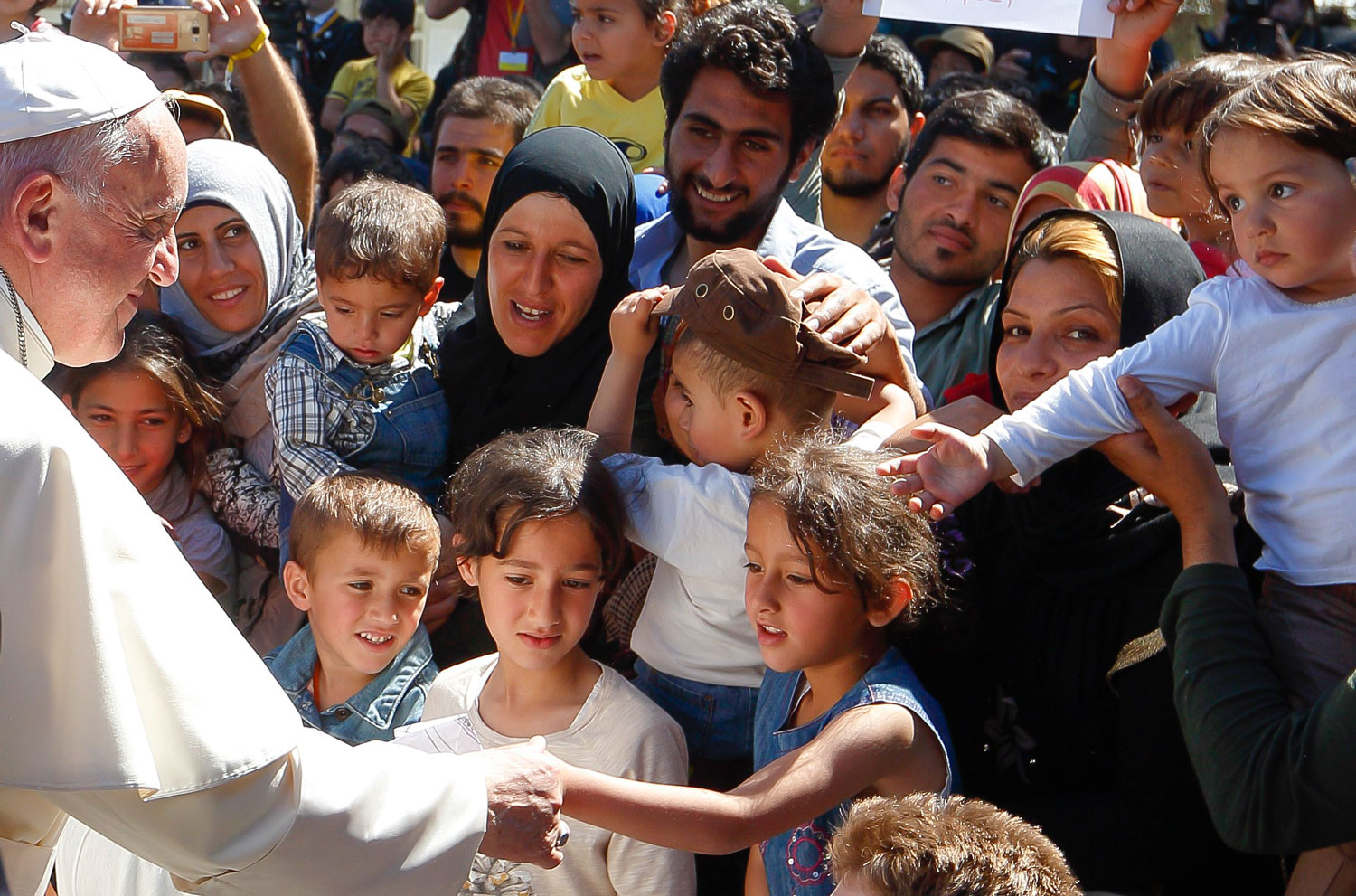 pope francis compassion Migrants and Refugees