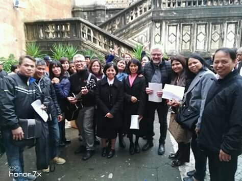Fr Fabio talk to the Philippine Chaplaincy in Rome