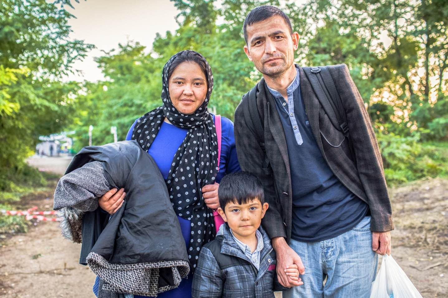 family of migrants Migrants and Refugees