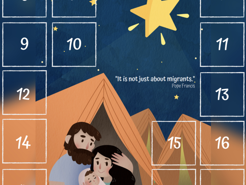 Advent Calendar for Migrants and Refugees