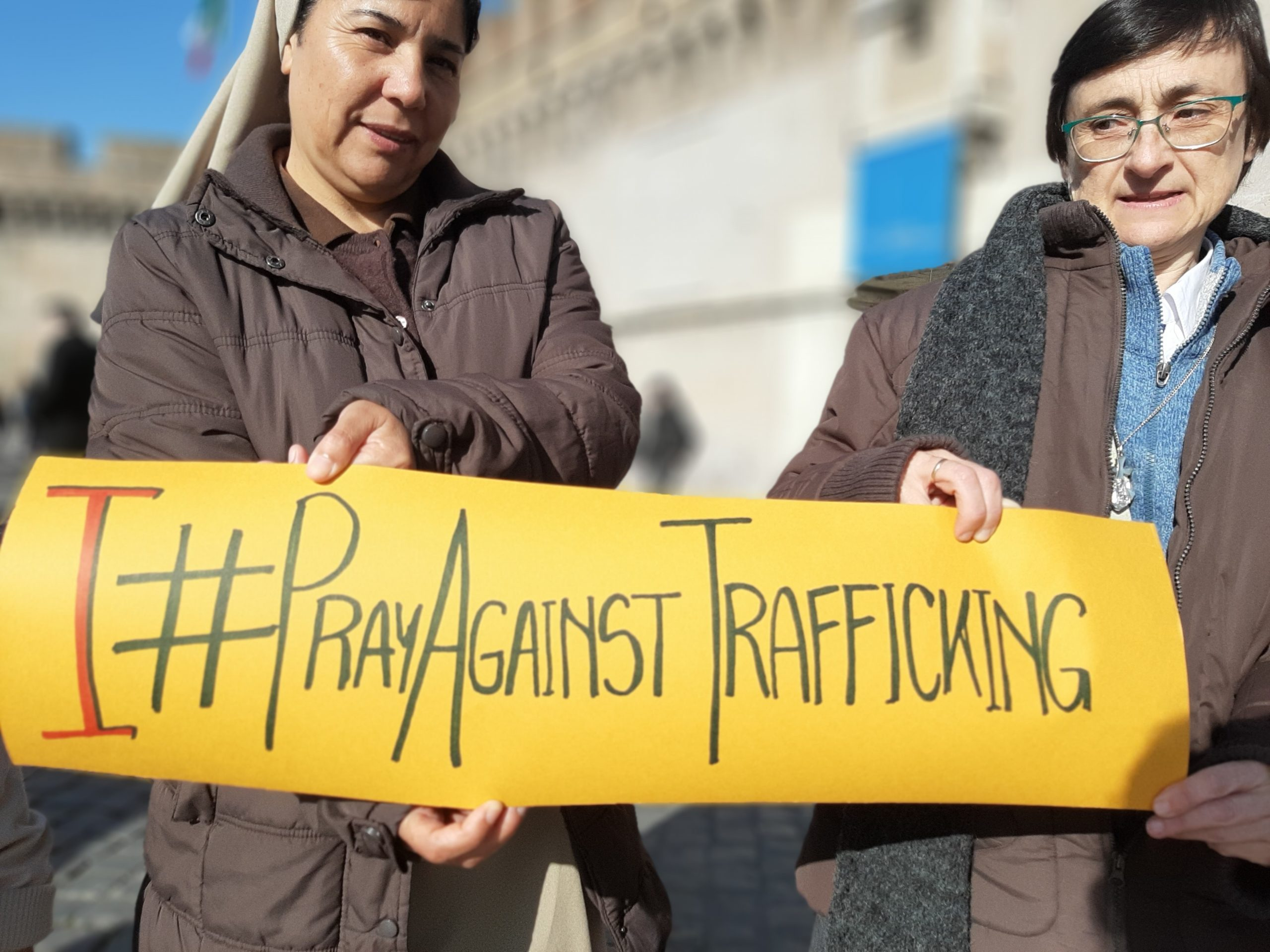 pray against trafficking Migrants and Refugees